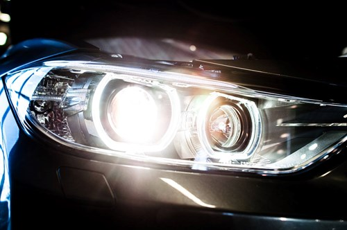 BMW F30 F31 DEPO Angel Eyes Look Halogen Headlights 9