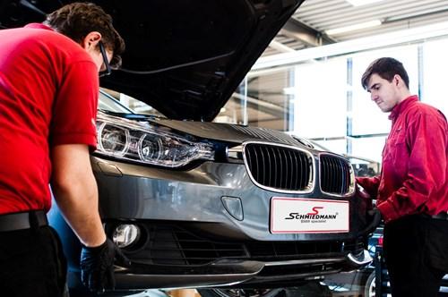 BMW F30 F31 DEPO Angel Eyes Look Halogen Headlights 12
