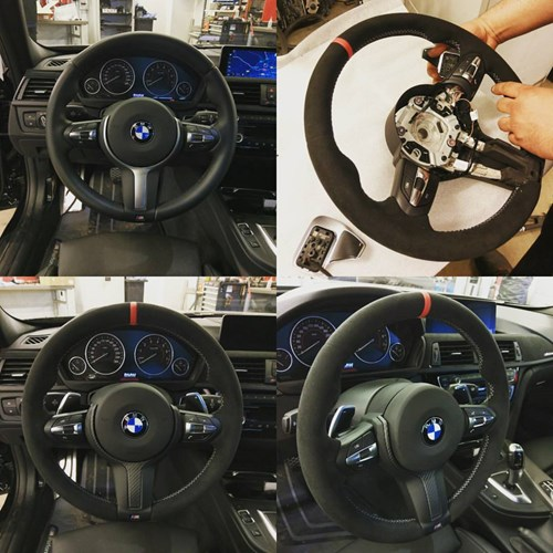 Installation Of BMW M Performance Steering Wheel