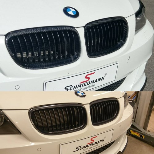 BMW E90 Carbon Nyrer Kidneys Styling