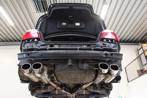 BMW E60 Schmiedmann Ombygning M5 Skaerme M5 Eisenmann Udstoedning M5 Skoerter M5 Forkofanger Og M5 Bagkofanger 29