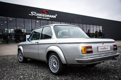 BMW 2002 Reservedele Spare Parts Schmiedmann 1 Med Nummerplade