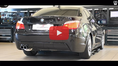 BMW E60 530I Udstoedning Supersprint Bagpotte