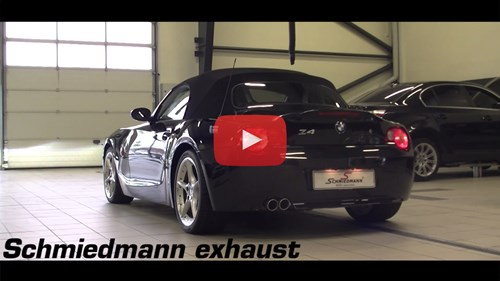 BMW Z4 E85 Schmiedmann Udstoedning Manifold Bagpotte