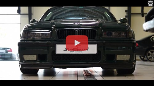 BMW E36 M3 GT Knastaksler Youtube Playbutton Thumbnail