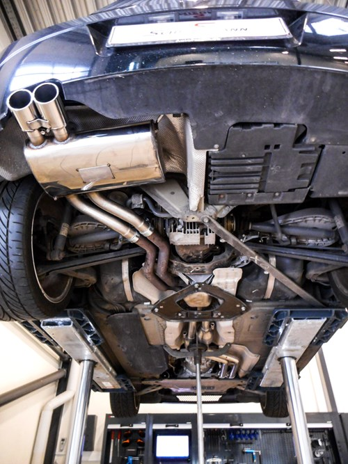 BMW Z4 30 Exhaust Schmiedmann Beforeafter 3 2