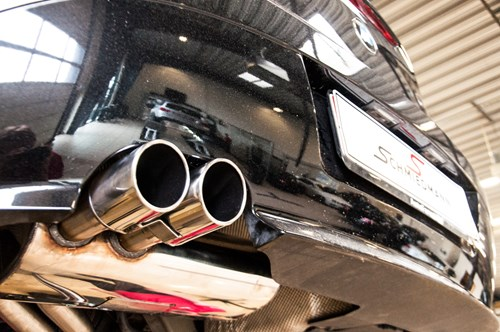 BMW Z4 30 Exhaust Schmiedmann Beforeafter 6