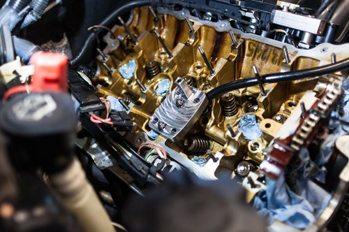 Vaerktoej Fjederstrammer Schmiedmann Udskiftning Af Ventilstyrspakdaaser Ventilstyrspakninger BMW 1