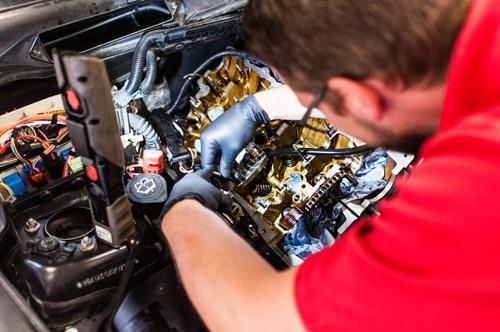 Vaerktoej Fjederstrammer Schmiedmann Udskiftning Af Ventilstyrspakdaaser Ventilstyrspakninger BMW 2