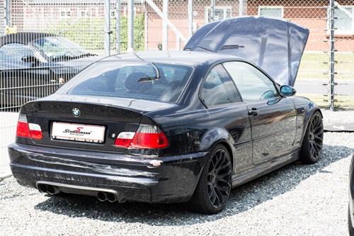 Genopbygning Af BMW E46 M3 Schmiedmann 3 Inklnummerplade