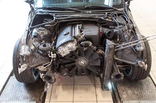 Genopbygning Af BMW E46 M3 Schmiedmann 1 2