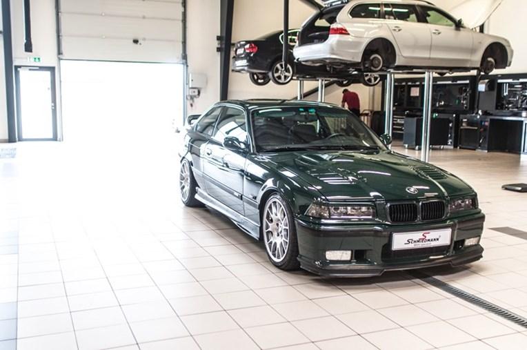 BMW E36 AC Schnitzer Knastaksler M3 GT British Racing Green Schmiedmann 1