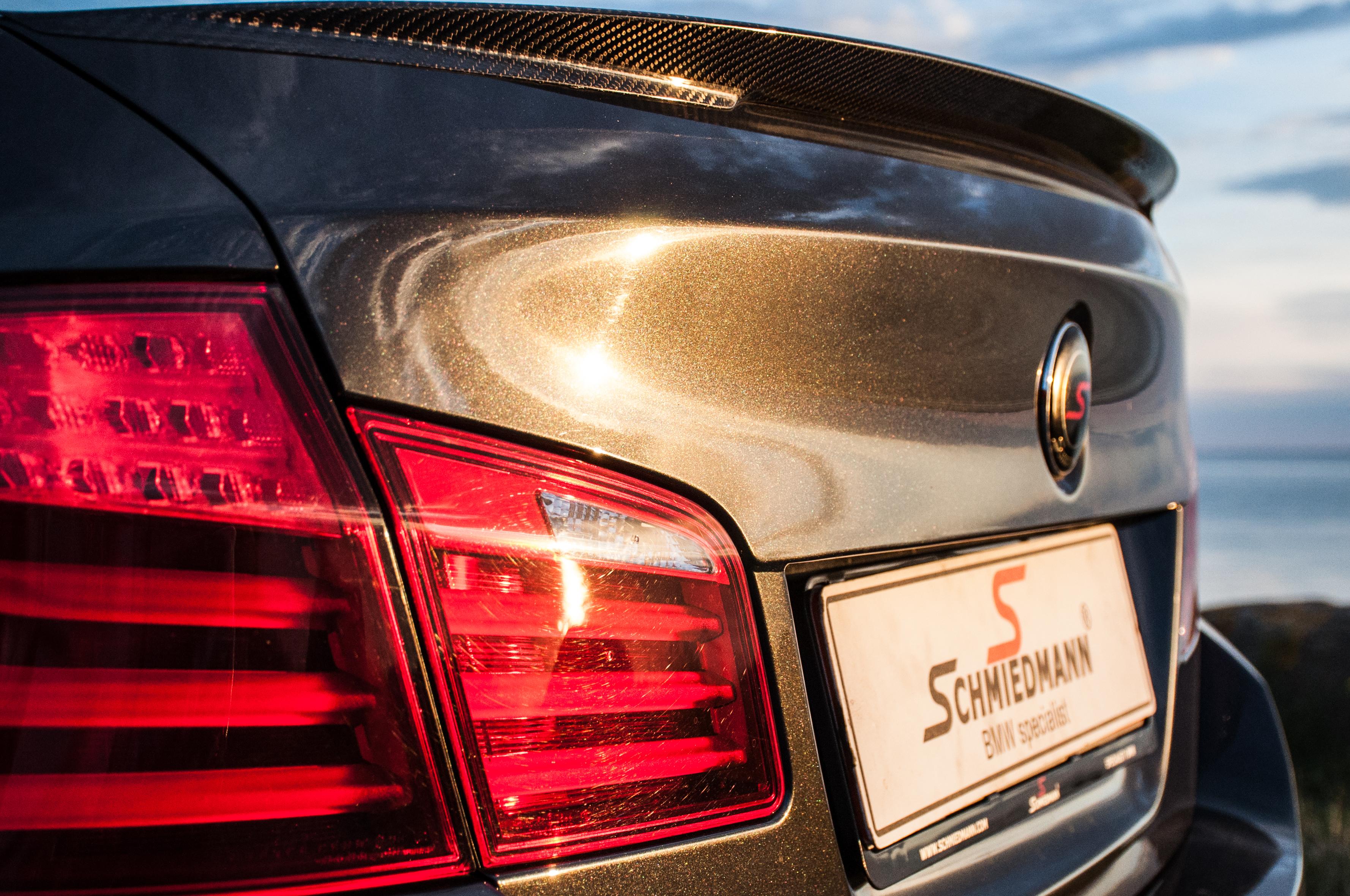 Schmiedmann - BMW F10 550I Schmiedmann S5 - From stock to -S5-