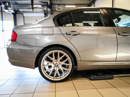 Schmiedmann BMW E90 LCI 320D N47 Gewind Undervogn Montering 3