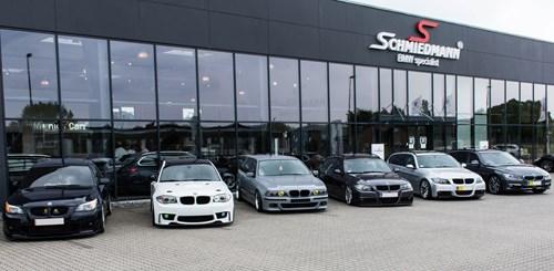 BMW Society Aalborg On Visit At Schmiedmann Odense