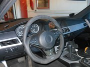 Bmw E61 525D Schmiedmann Flat Bottom Steering Wheel03