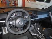 Bmw E61 525D Schmiedmann Flat Bottom Steering Wheel05