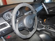 Bmw E61 525D Schmiedmann Flat Bottom Steering Wheel06