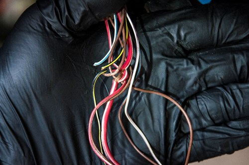 BMW E61 Ledninger I Bagklap 0012