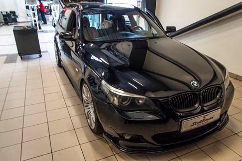 BMW E61 Ledninger I Bagklap 0018