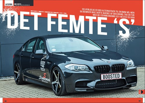 Schmiedmann BMW S5 F10 550I Boosted Article S1