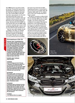 Schmiedmann BMW S3 E90 335I Performance BMW Article S3