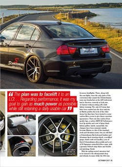 Schmiedmann BMW S3 E90 335I Performance BMW Article S4