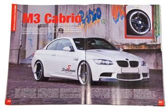 BMW E93 M3 powered by Schmiedman, in BMW Power magazine.