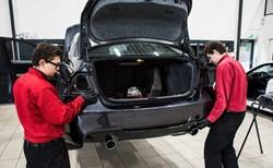 Schmiedmann BMW E90 Intake Manifold Rear Apron Carbon Trimpanel 7882