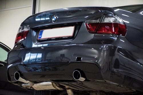 Schmiedmann BMW E90 Intake Manifold Rear Apron Carbon Trimpanel