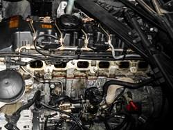 Schmiedmann BMW E90 Intake Manifold Rear Apron Carbon Trimpanel 6940