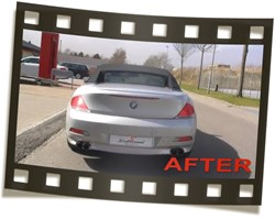 Bmw E64 645I Eisenmann Exhaust M6 Look Video
