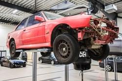 Schmiedmann BMW M3 E30 EVO2 Restoration 8881