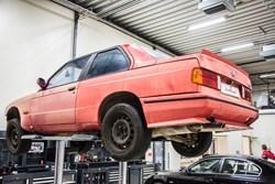 Schmiedmann BMW M3 E30 EVO2 Restoration 8882