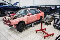 Schmiedmann BMW M3 E30 EVO2 Restoration 8939