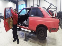 BMW M3 E30 EVO2 Restoration At Schmiedmann Preliminary Work 2 Still001