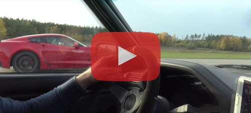 Chevrolet Corvette Z06 C7 Vs BMW 325I E30 Turbo View From BMW