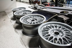 Schmiedmann BMW M3 E30 EVO2 Rims Cleaned 9443