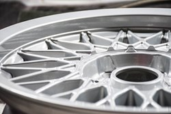 Schmiedmann BMW M3 E30 EVO2 Rims Cleaned 9458