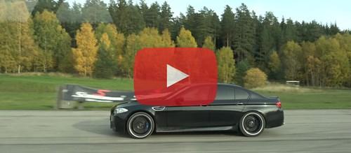 571 HP Mercedes G63 AMG V8 Biturbo Vs 600Plus HP Tuned BMW M5 F10 YT Playbutton