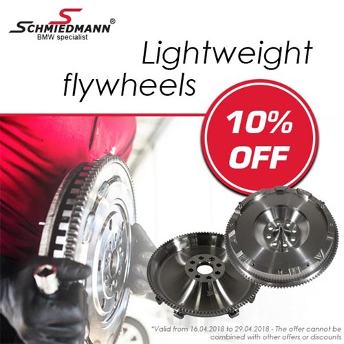 Schmiedmann Lightweight Flywheels