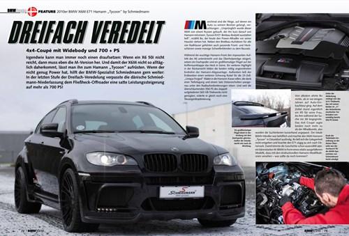 Schmiedmann BMW X6 M E71 Hamann BMW Scene DREIFACH VEREDELT Page 1