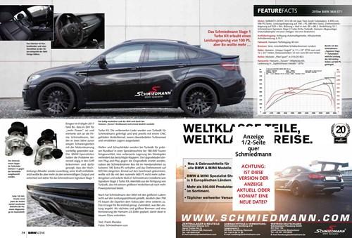 Schmiedmann BMW X6 M E71 Hamann BMW Scene DREIFACH VEREDELT Page 2