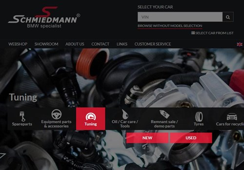 Schmiedmann Website Tuning 1