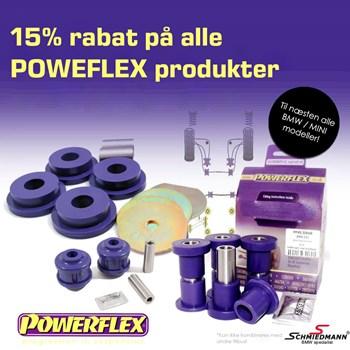 Schmiedmann tilbud 10% på alle Powerflex bøsninger