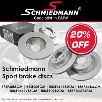 Schmiedmann Sport Brake Discs EN