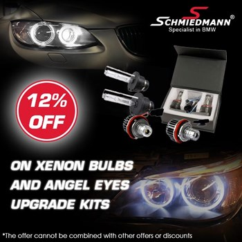 Schmiedmann offer 15% xenon bulbs