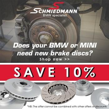 Schmiedmann offer 12% Brake discs