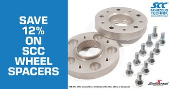 Schmiedmann offer 20% scc wheel spacers