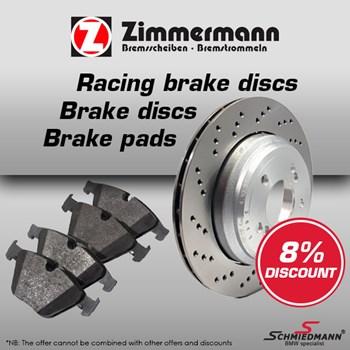 Schmiedmann offer 10% Zimmermann brake discs and brake pads
